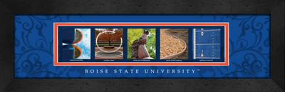 Boise State Broncos Campus Letter Art Print | Get Letter Art | CLAL1B22BSUN