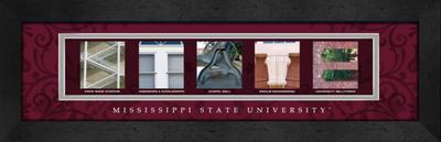 Mississippi State Bulldogs | Get Letter Art | CLAL1B22MSSU