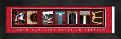 NC State Campus Letter Art | Get Letter Art | CLAL1B22NCSR
