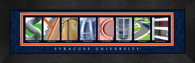 Syracuse Orange Campus Letter Art | Get Letter Art | CLAL1B22SYRA