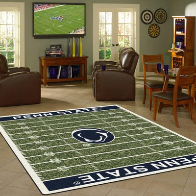 Penn State Nittany Lions Football Field Rug | Milliken | 4000054651