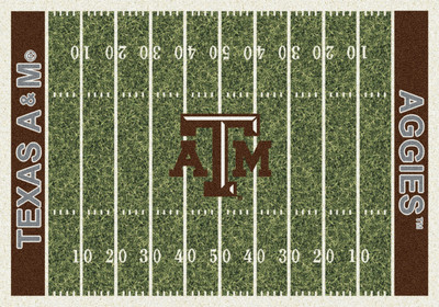 Texas A&M Aggies Football Field Rug | Milliken | 4000054663