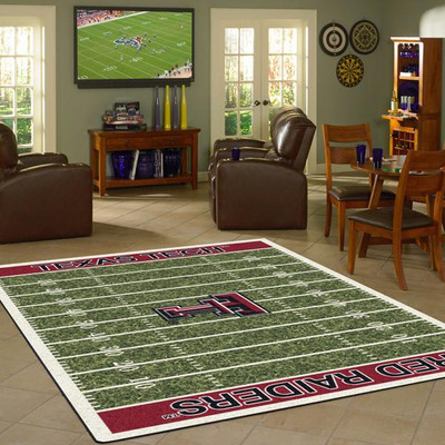 Texas Tech Red Raiders Football Field Rug | Milliken | 4000054665