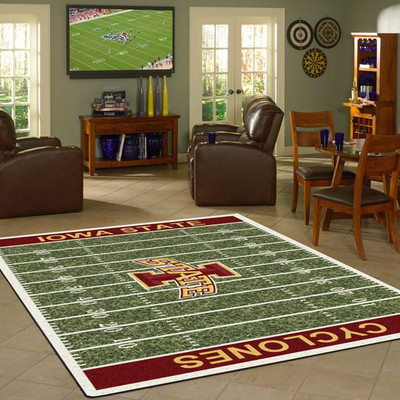 Iowa State Cyclones Football Field Rug | Milliken | 4000054628