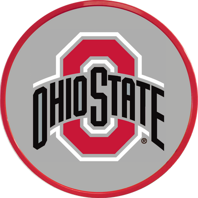 Ohio State Buckeyes 17 inch Team Disc Wall Sign--Primary Logo | Grimm Industries |OS-230-01