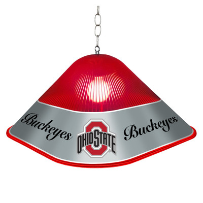 Ohio State Buckeyes Game Table Light-Square--Primary Logo | Grimm Industries |OS-410-01