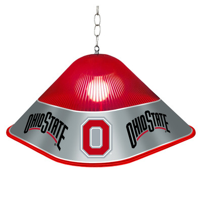 Ohio State Buckeyes Game Table Light-Square--Block O | Grimm Industries |OS-410-02