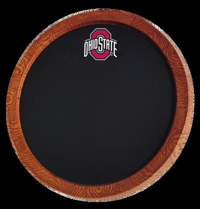Ohio State Buckeyes 20 inch Barrel Team Logo Chalkboard--Primary Logo | Grimm Industries |OS-630-01