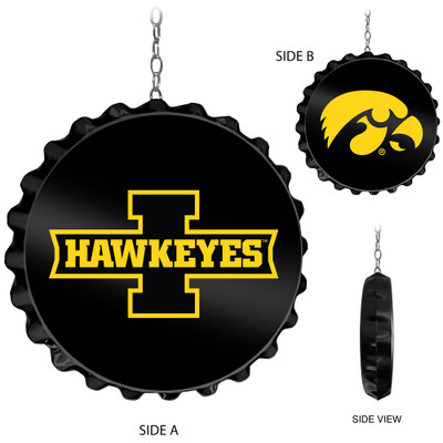 Iowa Hawkeyes Team Spirit Bottle Cap Dangler- | Grimm Industries |IA-220-01