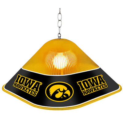 Iowa Hawkeyes Game Table Light-Square | Grimm Industries |IA-410-01
