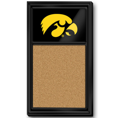 Iowa Hawkeyes Team Board Corkboard-Tigerhawk | Grimm Industries |IA-640-01