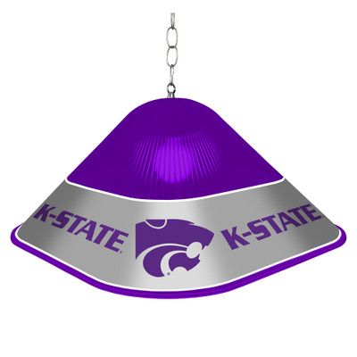 Kansas State Wildcats Game Table Light-Square--Purple | Grimm Industries |KS-410-01
