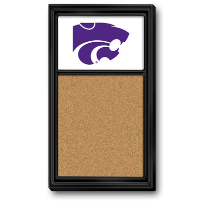 Kansas State Wildcats Team Board Corkboard--Primary Logo | Grimm Industries |KS-640-01
