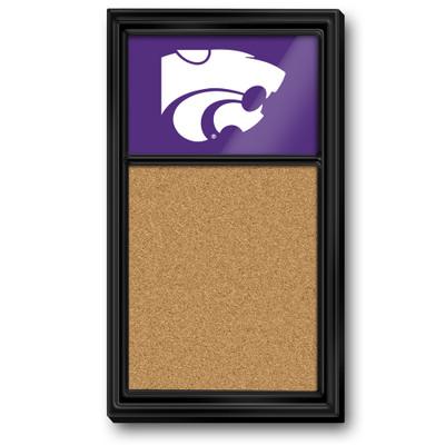 Kansas State Wildcats Team Board Corkboard--Primary Logo-Purple | Grimm Industries |KS-640-02
