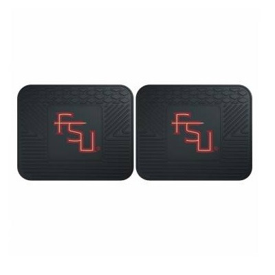 FSU Seminoles Utility Car Mats Set of Two | Fanmats | 12258