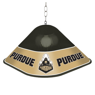 Purdue Boilermakers Game Table Light-Square--Black | Grimm Industries |PU-410-01