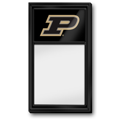 Purdue Boilermakers Team Board Whiteboard--Primary Logo-Black | Grimm Industries |PU-610-02