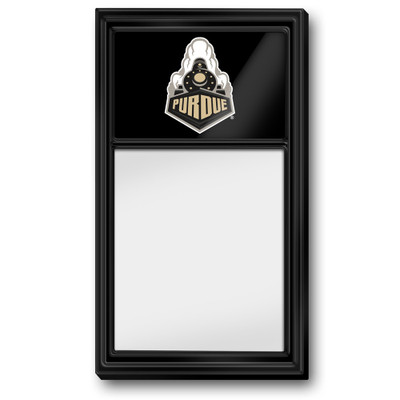 Purdue Boilermakers Team Board Whiteboard--Train-Black | Grimm Industries |PU-610-04