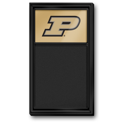Purdue Boilermakers Team Board Chalkboard--Primary Logo-Black | Grimm Industries |PU-620-01