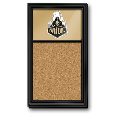 Purdue Boilermakers Team Board Corkboard--Train-Gold | Grimm Industries |PU-640-03