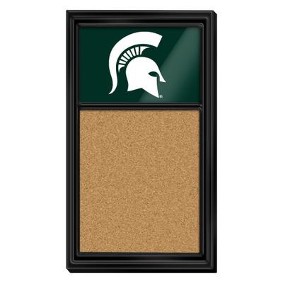 Michigan State Spartans Team Board Corkboard--Primary Logo-Green | Grimm Industries |MS-640-01