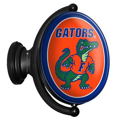 Florida Gators Rotating Illuminated LED Team Spirit Wall Sign-Oval-Albert | Grimm Industries |UF-125-03