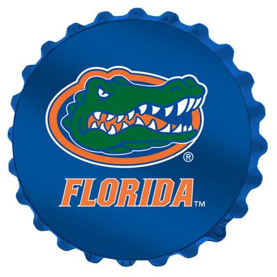 Florida Gators Team Spirit Bottle Cap Wall Sign-Primary Logo | Grimm Industries |UF-210-01