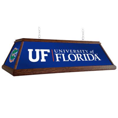 Florida Gators 49 inch Premium Deluxe Wood Pool Table Light-University Logos | Grimm Industries |UF-330-01