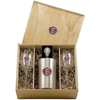 FSU Seminoles Wine Set | Heritage Pewter | WSB10265ER