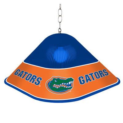 Florida Gators Game Table Light-Square-Blue | Grimm Industries |UF-410-01