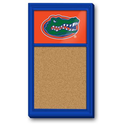 Florida Gators Team Board Corkboard-Primary Logo | Grimm Industries |UF-640-01