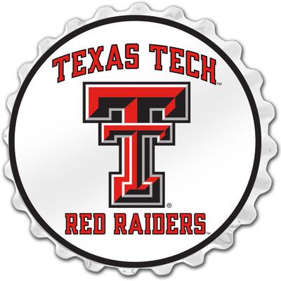 Texas Tech Red Raiders Team Spirit Bole Cap Wall Sign-Primary Logo | Grimm Industries |TT-210-01