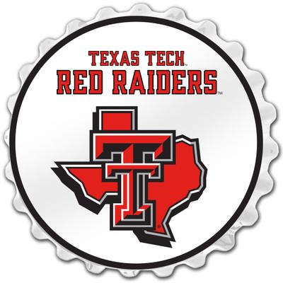 Texas Tech Red Raiders Team Spirit Bole Cap Wall Sign-State Mark | Grimm Industries |TT-210-03