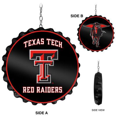Texas Tech Red Raiders Team Spirit Bole Cap Dangler-Primary Logo | Grimm Industries |TT-220-01