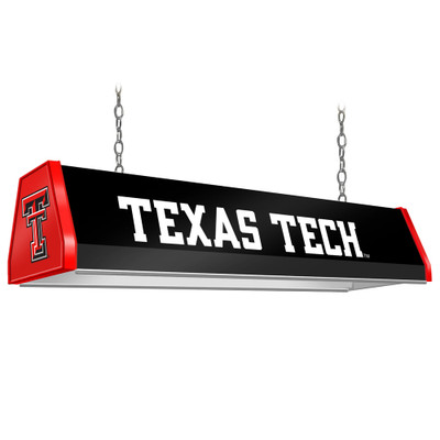 Texas Tech Red Raiders 38 inch Standard Pool Table Light-Black | Grimm Industries |TT-310-01