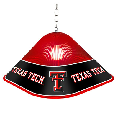 Texas Tech Red Raiders Game Table Light-Square-Red | Grimm Industries |TT-410-01