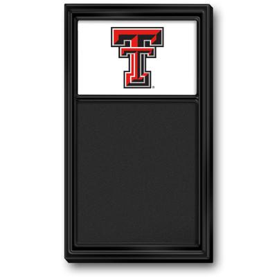 Texas Tech Red Raiders Team Board Chalkboard-Primary Logo | Grimm Industries |TT-620-01