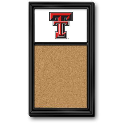 Texas Tech Red Raiders Team Board Corkboard-Primary Logo | Grimm Industries |TT-640-01