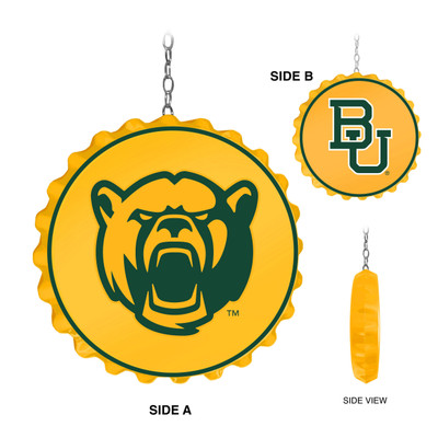 Baylor Bears Team Spirit Bottle Cap Dangler-Primary Logo | Grimm Industries |BA-220-01