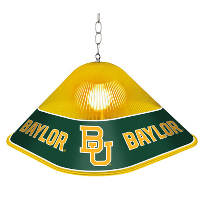 Baylor Bears Game Table Light-Square-Primary Logo | Grimm Industries |BA-410-01