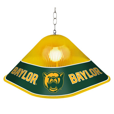 Baylor Bears Game Table Light-Square-Bears | Grimm Industries |BA-410-02