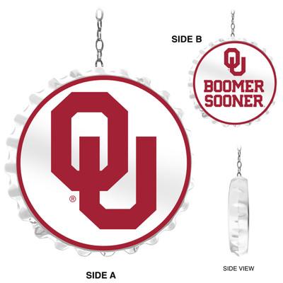 Oklahoma Sooners Team Spirit Bottle Cap Dangler-Primary Logo | Grimm Industries |OK-220-01