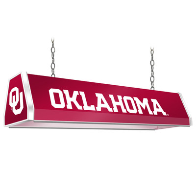 Oklahoma Sooners 38 inch Standard Pool Table Light-Red | Grimm Industries |OK-310-01