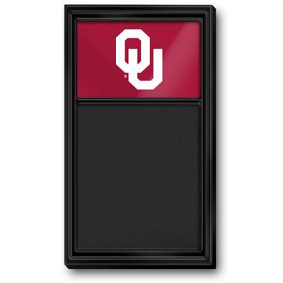 Oklahoma Sooners Team Board Chalkboard-Primary Logo | Grimm Industries |OK-620-01