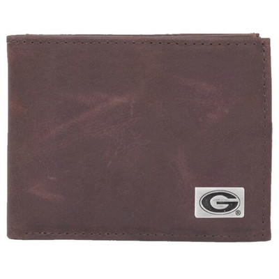 Georgia Bulldogs Bi-Fold Wallet | Eagles Wings | 2511