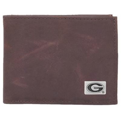 Georgia Bulldogs Bi-Fold Wallet | Eagles Wings | 2511