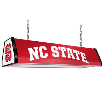 NC State Wolfpack 38 inch Standard Pool Table Light-Red | Grimm Industries |NC-310-01