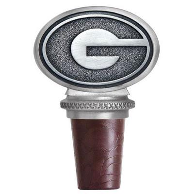 Georgia Bulldogs Bottle Stopper | Heritage Pewter | BS10005