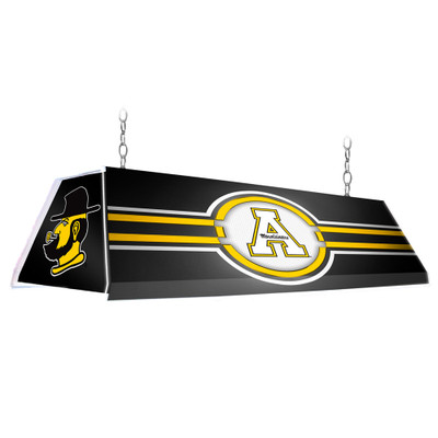 Appalachian State Mountaineers 46 inch Edge Glow Pool Table Light-Black | Grimm Industries |AP-320-01