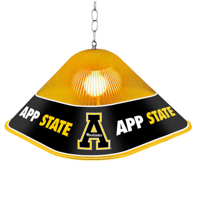 Appalachian State Mountaineers Game Table Light-Square-Primary Logo | Grimm Industries |AP-410-01